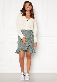 VERO MODA Henna Wrap Short Skirt Laurel Wreath/ Dots Bubbleroom.se
