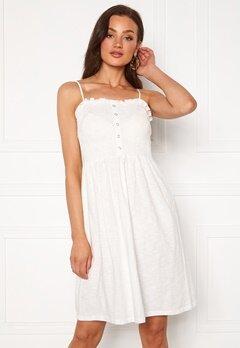 VERO MODA Hey S/L Abk Dress Snow White Bubbleroom.se