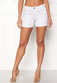 VERO MODA Hot Seven Fold Shorts Bright White Bubbleroom.se
