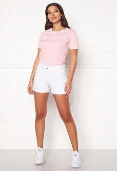 VERO MODA Hot Seven NW Fold Shorts Bright White Bubbleroom.se