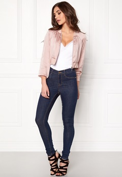 VERO MODA Hotta Short Bomber Jacket Peach Whip Bubbleroom.fi