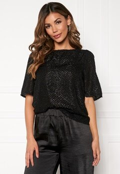 VERO MODA Isolda 2/4 Top Black Bubbleroom.se