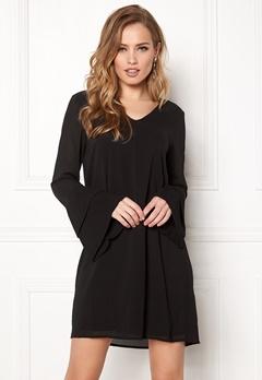 VERO MODA Jimilia L/S Dress Black Bubbleroom.eu