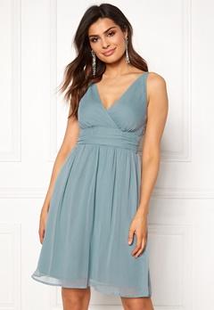 VERO MODA Josephine Knee Dress Smoke Blue Bubbleroom.se