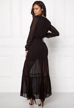 VERO MODA Kadash L/S Ancle Dress Black Bubbleroom.no