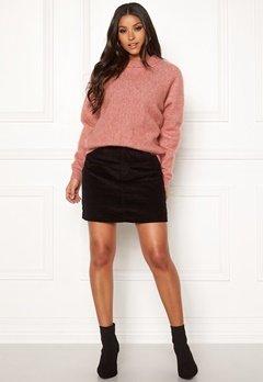 VERO MODA Karina HR A-shape Skirt Black Bubbleroom.se