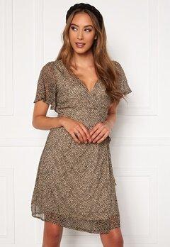 VERO MODA Kay SS Wrap Short Dress Nomad Bubbleroom.se