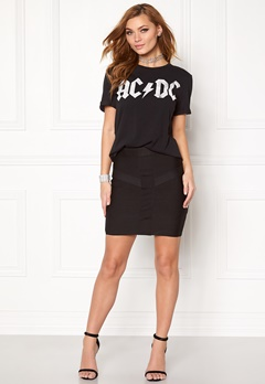 VERO MODA Kiss s/s T-shirt Black Bubbleroom.se
