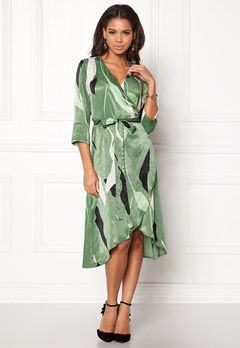 VERO MODA Laksmi 3/4 Calf Dress Dark Ivy Bubbleroom.se