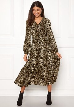 VERO MODA Leo Ankle Dress Black Bubbleroom.se