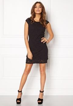 VERO MODA Lilly Lace Short Dress Black Bubbleroom.eu