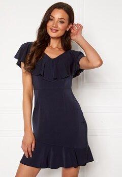 VERO MODA Line s/l Dress Night Sky Bubbleroom.se
