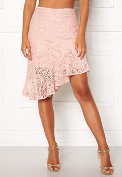 VERO MODA Lizz HW BLK Skirt Sepia Rose Bubbleroom.se