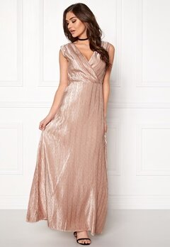 VERO MODA Lizzie Wrap Maxi Dress Rose Dust Bubbleroom.fi