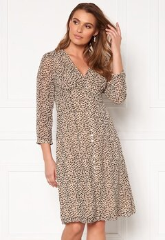 VERO MODA Loula 7/8 Dress Shadow Gray Bubbleroom.se