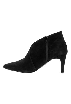 VERO MODA Manon Leather Boot Black Bubbleroom.fi