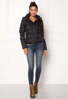 VERO MODA Marga Short Down Jacket Black Beauty Bubbleroom.fi