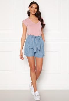 VERO MODA Mia Loose Summer Shorts Light Blue Denim Bubbleroom.se
