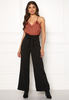 VERO MODA Milla HR Loose Pants Black Bubbleroom.se
