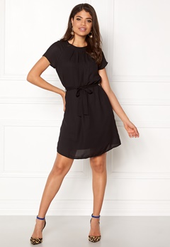 VERO MODA Nelli S/S Short Dress Black Bubbleroom.se