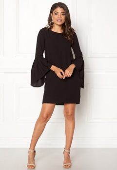 VERO MODA Perfect 3/4 Short Dress Black Bubbleroom.fi