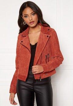 Köp Röda Skinnjackor billigt online | Trender 2020 | ShopAlike