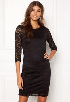 VERO MODA Sandra 3/4 Lace Dress Black Bubbleroom.se