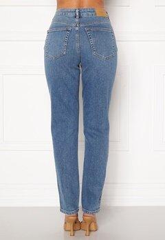 VERO MODA Sara Relaxed Jeans Medium Blue Denim Bubbleroom.se