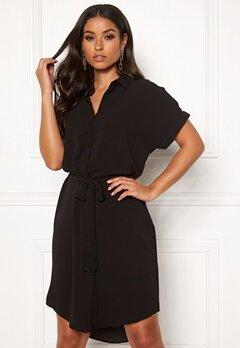 VERO MODA Sasha Shirt SS Dress Black Bubbleroom.se