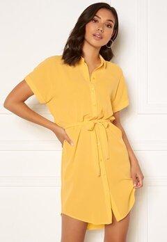 VERO MODA Sasha SS Shirt Dress Banana Cream Bubbleroom.se