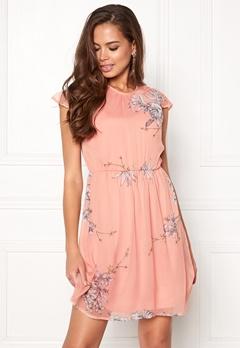 VERO MODA Satina Cap Dress Misty Rose Bubbleroom.se