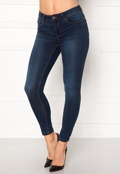 VERO MODA Seven Shape Up Jeans Dark Blue Denim Bubbleroom.se