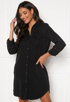 VERO MODA Silla LS Short Dress Black Bubbleroom.se
