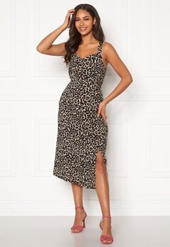 VERO MODA Simply Easy Strap Calf Dress Oatmeal Bubbleroom.se