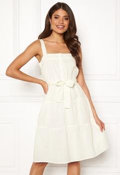 VERO MODA Soleima SL Dress Snow White Bubbleroom.se