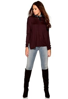 VERO MODA Sunset Funnelneck Knit Fudge Bubbleroom.fi