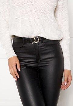 VERO MODA Tahi Leather Jeans Belt Black Bubbleroom.se
