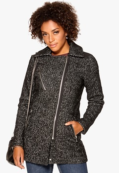 VERO MODA Taken Pattern Jacket Black Bubbleroom.se
