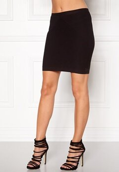 VERO MODA Tanya Short Skirt Black Bubbleroom.fi