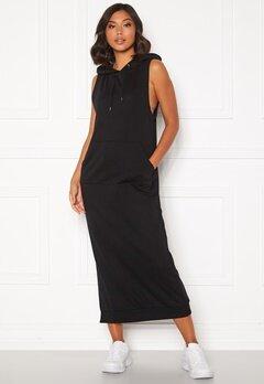 VERO MODA Taryn S/L Long Sweat Dress Black Bubbleroom.se