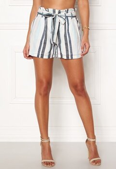 VERO MODA Tavi NW Shorts Cool Blue Stripe Bubbleroom.se