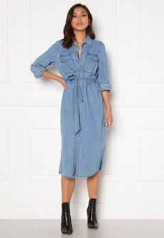 VERO MODA Teagan Denim Dress Light Blue Denim Bubbleroom.se