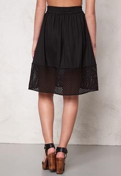 VERO MODA Thea skirt Black Bubbleroom.fi