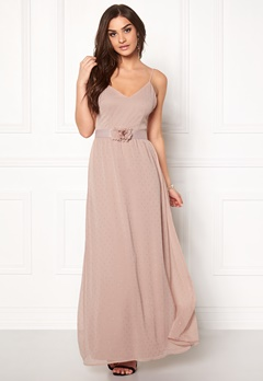 VERO MODA Tia Corsage Maxi Dress Rose Dust Bubbleroom.fi