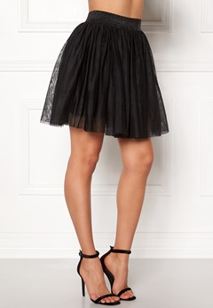 VERO MODA Tulle Short Skirt Black Bubbleroom.fi