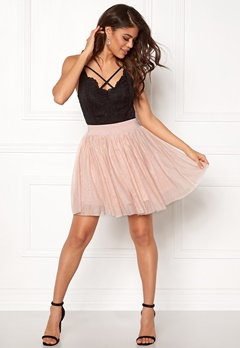 VERO MODA Tulle Short Skirt Dusty Rose Bubbleroom.fi