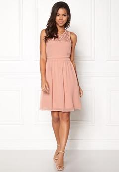 VERO MODA Vanessa SL Short Dress Misty Rose Bubbleroom.fi