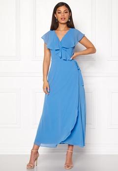 VERO MODA Vida SL Ankle Dress Granada Sky Bubbleroom.se