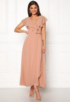 VERO MODA Vida SL Ankle Dress Misty Rose Bubbleroom.se