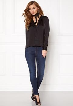 VERO MODA Vintage L/S Shirt Black Bubbleroom.no
